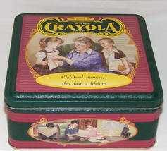 Crayola 1994 Collectible Tin Box Made In USA Mint Condition Crayola Trade Mark - $19.95