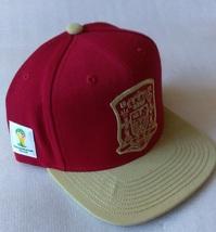 Adidas World Cup ESPANA SPAIN Soccer Hat Cap Snap Back Flat Brim One Size - $20.00