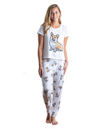 Dog Corgi pajama set with pants for women - $35.00