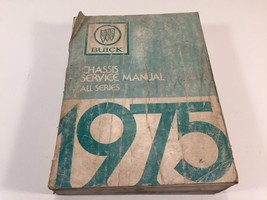 1975 Buick Factory Shop OEM Chassis Service Manual - $14.99