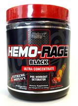 Nutrex Hemo Rage Black Preworkout Detonator Ultra Concentrate 255g Frut ... - $32.76