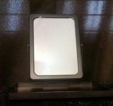 Mary Kay  Travel Foldable Mirror with Stand in Mesh Zippered Case Bag - $3.00