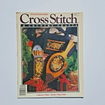 Cross Stitch & Country Crafts Magazine November December 1990  - $3.95