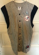 Vintage Logo Athletic Ny Yankees Mlb Jersey Vest T Shirt Mens Xl New Rare! - $39.95