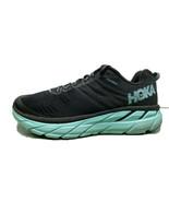 HOKA Clifton 6 Women's Road Running Shoes Black/Green US Size 8.5 Medium - $74.24