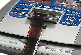 Epson Perfection 2580 Flatbed Film Feeder Photo Scanner - $29.65