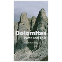 Dolomites, West and East: Alpine Club Climbing Guidebook Ron James - $14.00