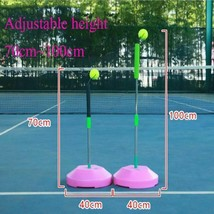 Tennis Trainer Tool Outdoor Sports Raquete Practice Training Machine Bal... - $80.29