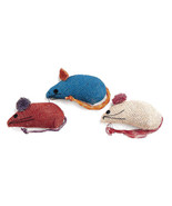 Ethical Burlap Mice 3 Pack 077234020906 - $15.76