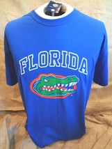 Ncaa Florida Gators Royal Blue T-SHIRT W Mascot Albert Sz Youth Lrg~New w/ Tags - $9.48