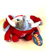 University of Alabama Orbiez Elephant Football Plush by Okoner Licensed ... - $12.86