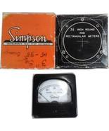 Vintage Simpson Triplet Sample Rate RPS 327-1 Panel Meter - $14.99