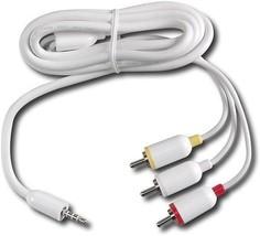 Video / audio cable - composite video / audio - RCA (M) - mi... - $1.97