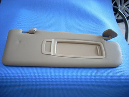 2013 BMW X6 RIGHT SUN VISOR