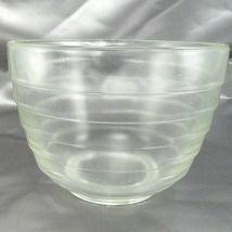 Pyrex Westinghouse Beehive Bowl 1.5qt Vintage Clear Glass Mixer w/ Pour Spout image 4