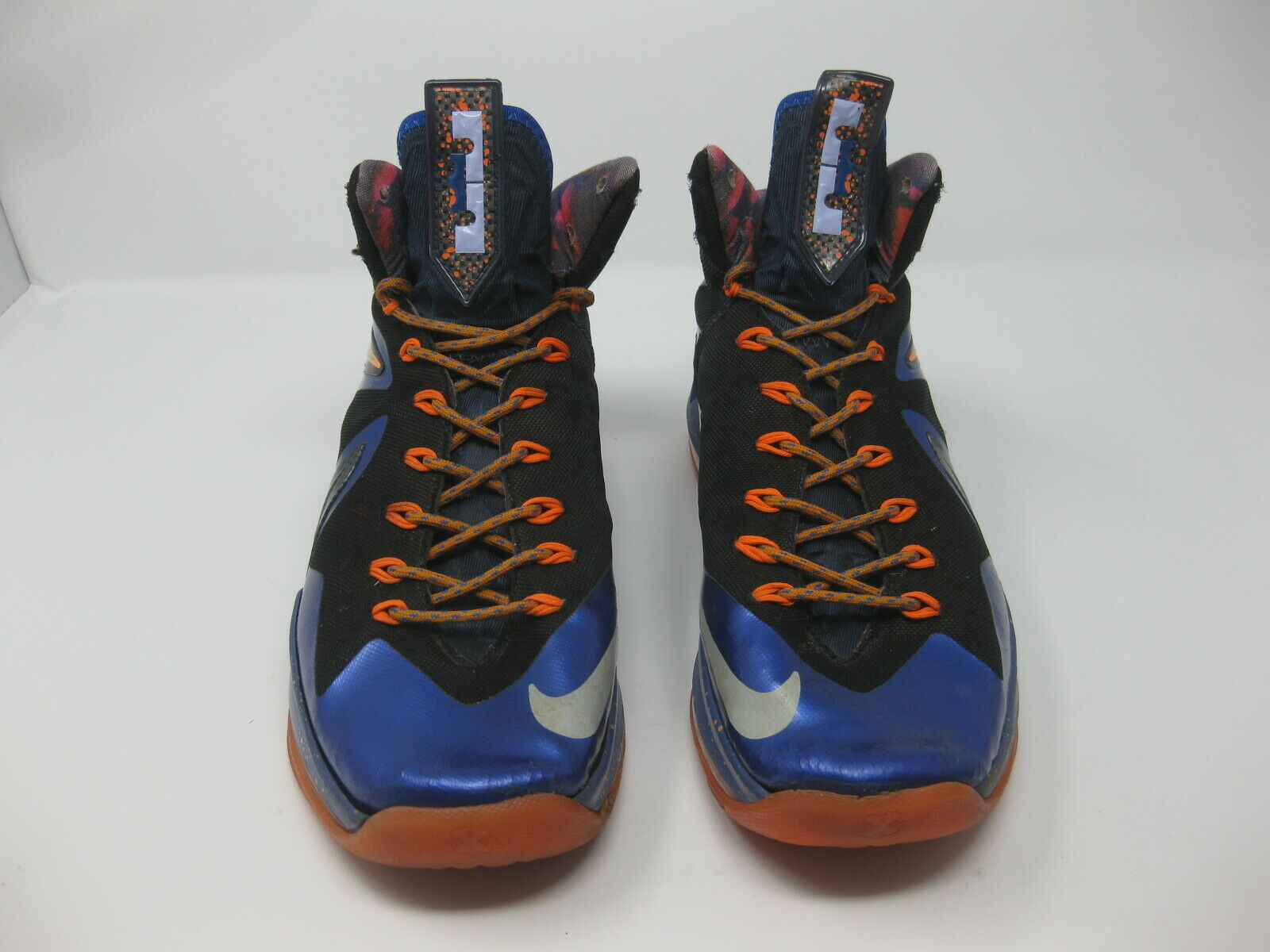 Nike LeBron X 10 PS Elite Superhero Men's Shoes Size 8.5 Blue 579827-400