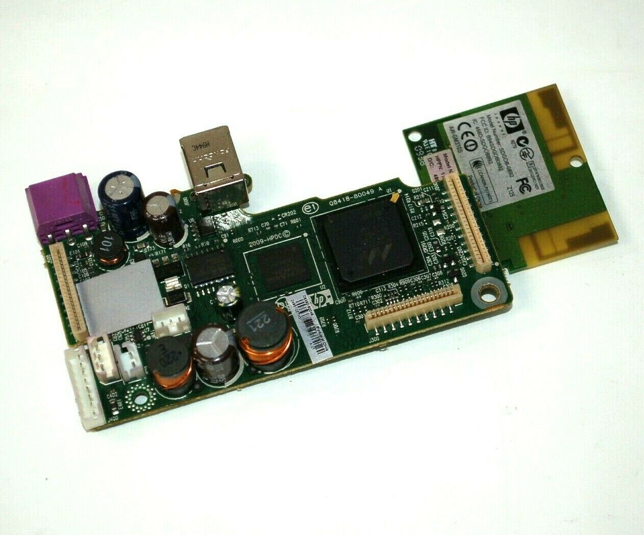 Primary image for HP PhotoSmart C4750 Main Formatter Logic Board w/Wireless Card Q8380-80046