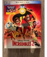 Incredibles 2 (2018 Blu Ray + DVD) Disney Pixar W/ Slipcover - $9.80