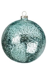 Sullivans OR8208 Sparkling Glass Ball Set of 6 5 Inches Each Aquamarine - $24.40
