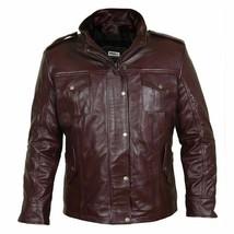 Gentleman's Burgundy Genuine Leather Field Jacket - $272.25+