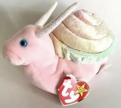 TY Beanie Baby Swirly The Snail 1999 - $4.88