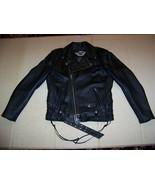 Genuine embroidered Harley Davidson leather jacket Skull Med RN 103819/C... - $299.95