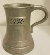 Wilton Columbia Pa Armetale Pewter 1776 Bicentennial Mug Tankard Stein Used - $12.59