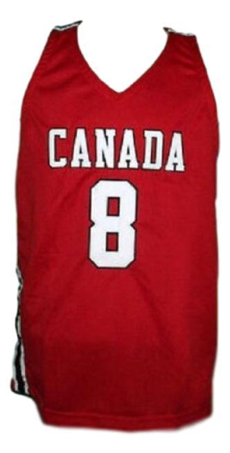 Andrew wiggins  8 team canada basketball jersey red   1