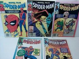MARVEL TALES STARRING SPIDER-MAN COMIC BOOK RUN LOT #167 169 176 177 179 - $8.79