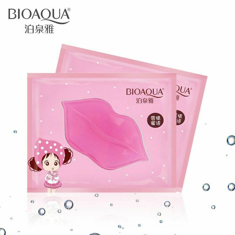 Primary image for 20pcs BIOAQUA Plumper Crystal Collagen Lip Mask Pads Moisture Essence