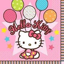 Amscan 509303 Beverage Napkins | Hello Kitty Balloon Dreams Collection | 16 pcs  - $3.85