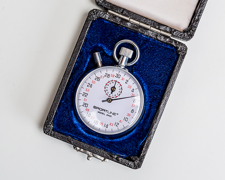 Sportline Stopwatch model 660 with case
