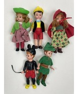Madame Alexander McDonald's Happy Meal Toy Lot Of 5 Mickey Peter Pan Pin... - $24.74