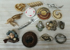 Vintage Lot of 15 ARTSY & ABSTRACT Brooch or Pins Jewelry Lot of 15 Arts... - $47.45