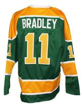 Custom Name # Salt Lake Golden Eagles Retro Hockey Jersey Bradley Green Any Size image 5