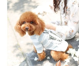 Pets Clothing Soft Summer Cotton Shirts Tshirt Costume For Small Puppies... - $10.99+
