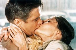 Audrey Hepburn George Peppard Kissing in Rain Breakfast At Tiffany's final scene - $23.99