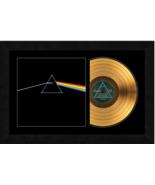 """""""Dark Side Of The Moon"""" by Pink Floyd 17x26 Framed 24kt Gold Albumw/Albu... - $198.95"""