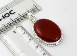 Carnelian Silver Overlay Handmade Pendant Jewelry -As-18-21 - $3.59