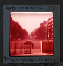 Vintage 1960s Amateur 35mm Slide Photo Oblesk from Madeleine Church Blac... - $6.29