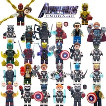 26pcs/set Superhero Avengers Endgame Thor Hawkeye Iron Man Pepper Minifigures - $41.95