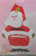 Bucilla Christmas Santa Needlecraft Jeweled Mail or Gift Bag Kit* - $24.00