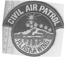 US Civil Air Patrol CAP Alaska Wing US Air Force Auxiliary USAF AUX Arct... - $9.99