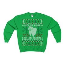 molar bear ugly christmas sweatshirt - $29.95+