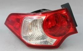 2009 2010 ACURA TSX LEFT DRIVER SIDE TAIL LIGHT OEM - $74.24