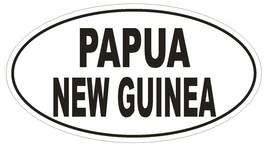 Papua New Guinea Oval Bumper Sticker or Helmet Sticker D2220 Euro Country Code - $1.39+