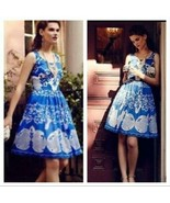 Anthropologie Azure Lace Dress Plenty by Tracy Reese Sz 0P - $99.99