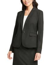 Ann Taylor Women's Classic One Button Blazer Jacket, Raven Black, Sz(6),... - $163.34