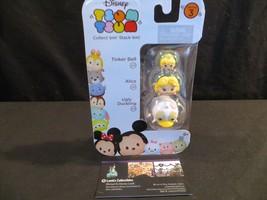 Disney Tsum Tsum vinyl Series 3 Stack Ems 3 Pk Tinker Bell, Alice, Ugly Duckling - $14.14