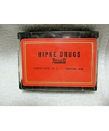 Vintage Collectible HIPKE REXALL DRUGS of CHILTON,WIS Playing Cards with... - $19.95